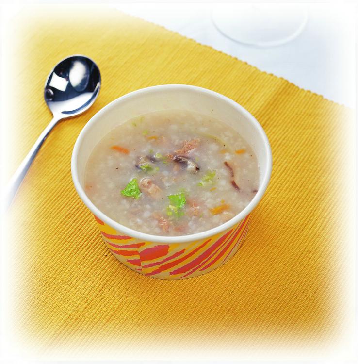 香菇牛肉粥